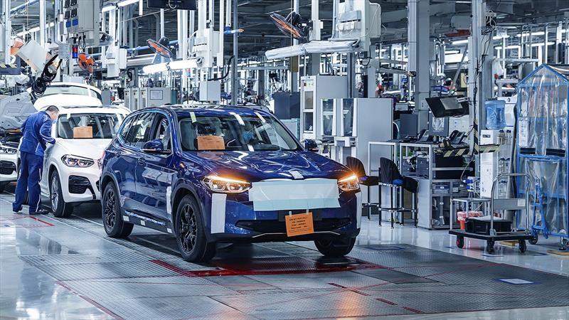 BMW iX3 concluye fase de homologación en China y Europa