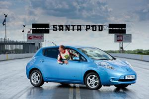 Nissan Leaf impone récord de velocidad en reversa