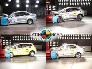 Honda y VW 5 estrellas en las nuevas pruebas de Latin NCAP