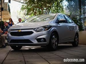 Chevrolet Prisma 2017 inicia ventas en Chile por $8.490.000