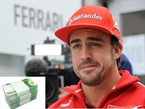 F1: ¿Cuánto ganan los pilotos?