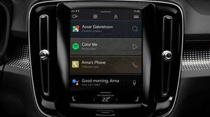 Volvo XC40 Electric equipa un nuevo sistema de infoteiment con apps de Google integradas