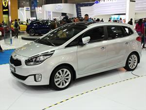Nueva Kia Carens 2013 en el Salón del Automóvil