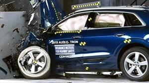 Audi E-tron consigue el Top Safety Pick+ del IIHS