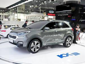 Kia KX3 Concept ¿El futuro de la marca está en China?