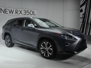Lexus RX 350L: lujo y poder japonés en el Salón de Los Ángeles