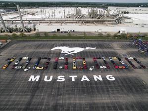 Desde su debut en 1964, Ford ha producido más de 500 Mustang por día