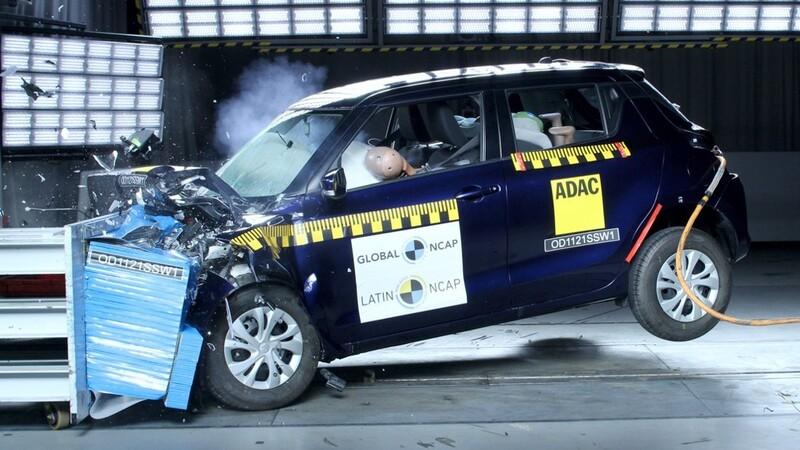 ¿Qué tan seguro es el Suzuki Swift que se vende en México, según el Latin NCAP?