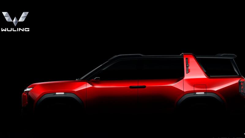 Wuling Hong Guang X Concept, la previa a la próxima SUV china de GM