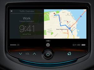 Apple presenta al iOS para vehículos