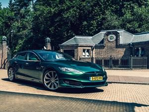 Tesla Model S Shooting Brake, tan raro y genial que enamora