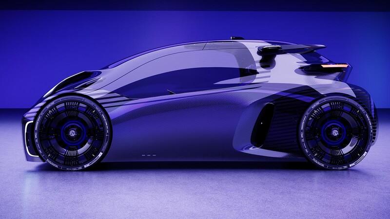 MG Maze, el auto que puedes conducir como si fuese un videojuego