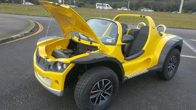 Brasil cocina un buggy 100% eléctrico