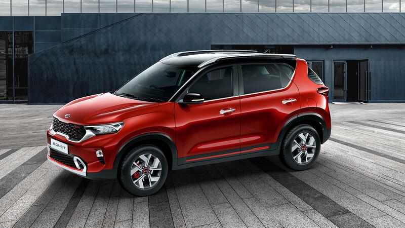 Kia Sonet 2021, la SUV más pequeña de la marca debuta en India