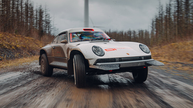 Singer All-Terrain Competition Study, un radical Porsche 911 con capacidades off-road