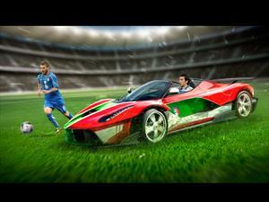Si los equipos de la Eurocopa 2016 fueran autos
