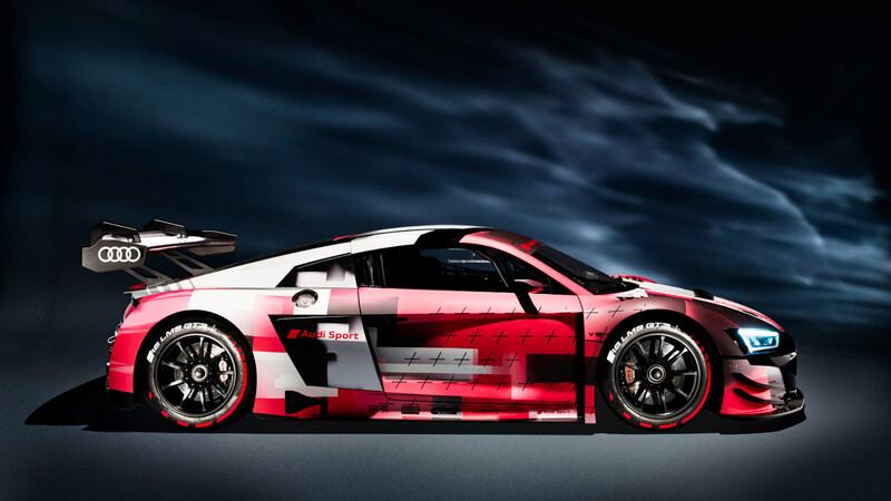 Audi R8 LMS GT3: mejoras para el auto de carreras alemán