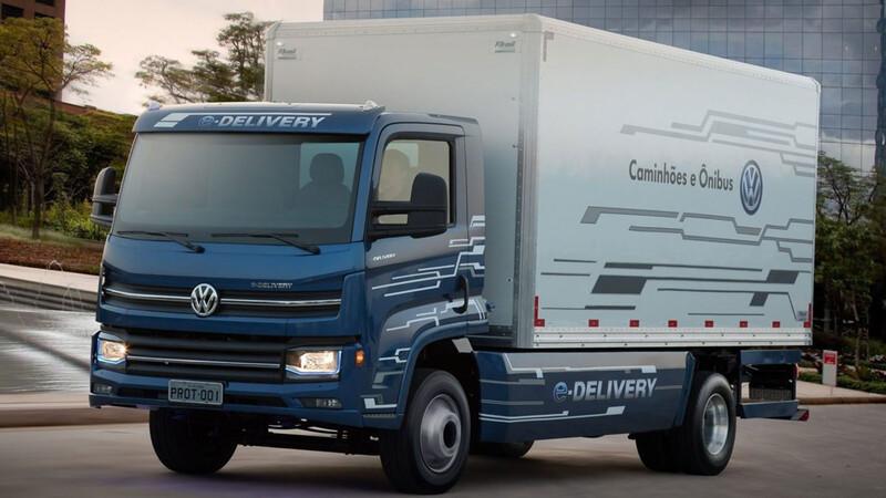Volkswagen ya fabrica camiones eléctricos en la región