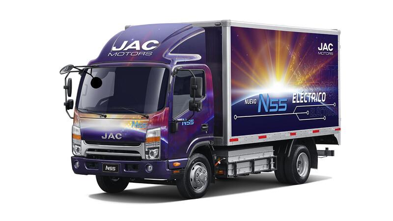 JAC presenta en Chile su primer camión eléctrico