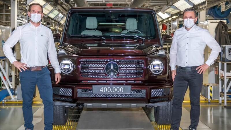 Mercedes-Benz registra 400,000 unidades producidas del Clase G
