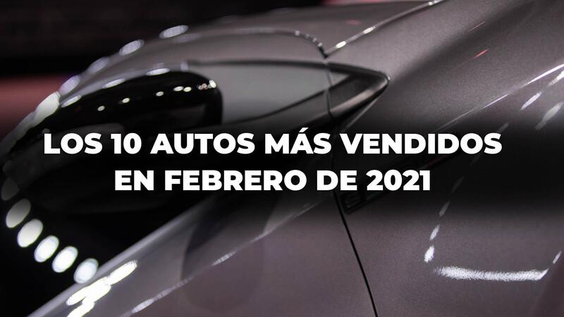Los 10 autos más vendidos en Argentina en febrero de 2021