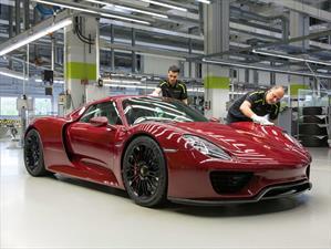 Terminó la producción del Porsche 918 Spyder