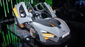 Checa este McLaren Senna de tamaño real al estilo LEGO