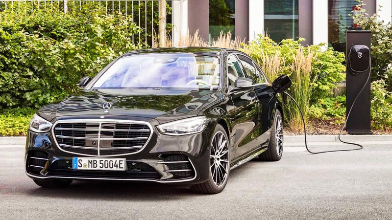 Mercedes-Benz S 580e: el lujo se electrifica