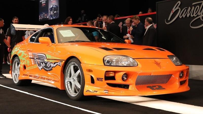 El famoso Toyota Supra de Rápidos y Furiosos fue vendido en más de 11 millones de pesos