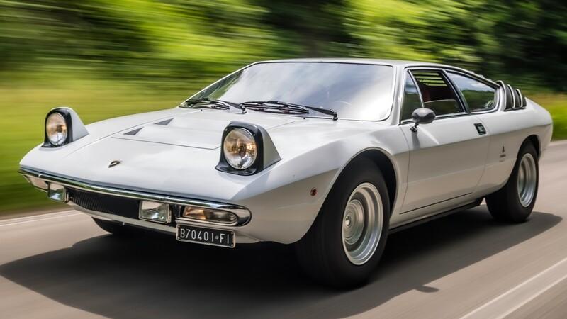 A 50 años del lanzamiento del Lamborghini Urraco