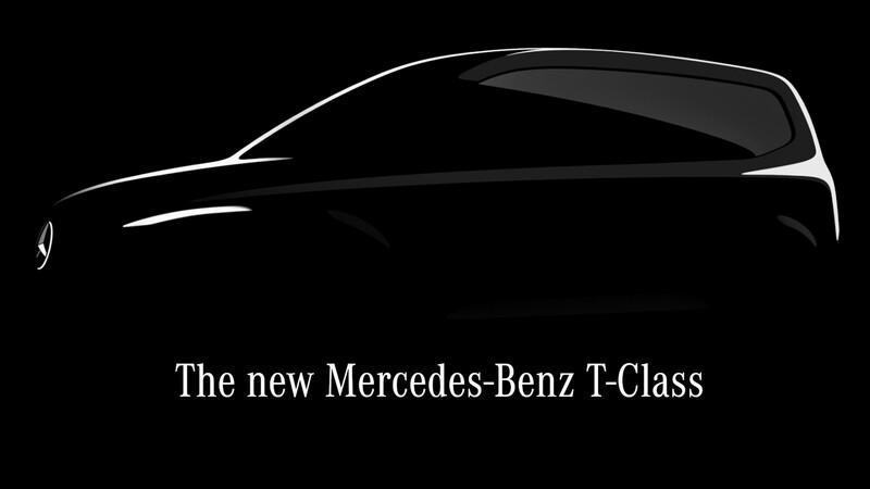 Mercedes-Benz lanza el primer teaser de su nuevo utilitario