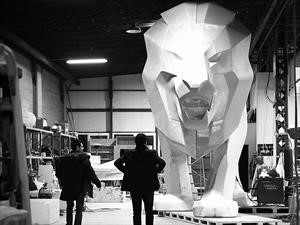 Colosal escultura engalanará stand de Peugeot en Ginebra