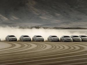 Hyundai crea la imagen con huellas de llanta más grande