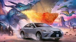 Lexus ES, UX y LC se convierten en personajes de manga