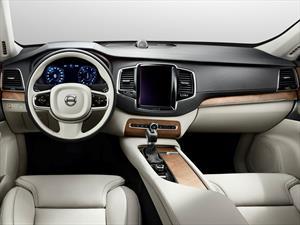 Nueva Volvo XC90 2015, primeras imágenes del interior