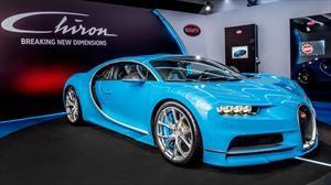 Apurate, nada mas quedan 100 unidades del Bugatti Chiron disponibles a la venta