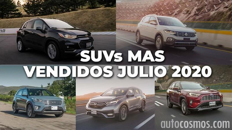Los 10 SUVs más vendidos en julio 2020