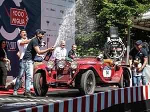 Alfa Romeo 6C 1750 GS, vence en la Mille Miglia 2017