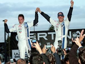 Sébastien Ogier y Julien Ingrassia, ganadores del Campeonato Mundial de Rallies