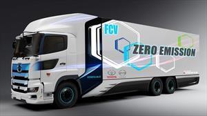 Toyota e Hino Motors preparan un nuevo camión de hidrógeno con 600 km de autonomía