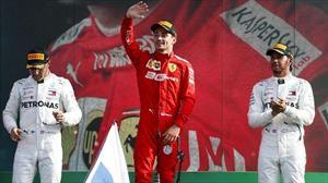F1 GP de Monza 2019: Victoria para Ferrari y Leclerc