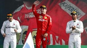 F1 2019: Leclerc prende la fiesta en Monza para Ferrari