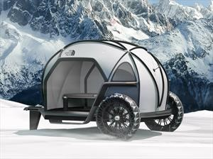 BMW y The North Face desarrollan un auto camping de invierno