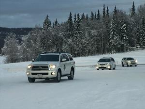 Toyota recorre el mundo probando sus vehículos