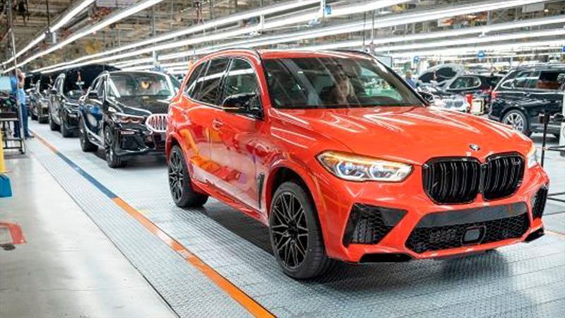BMW ha construido cinco millones de unidades en los Estados Unidos