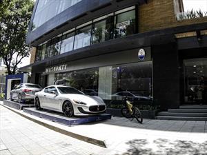 Maserati abre nueva vitrina en Bogotá