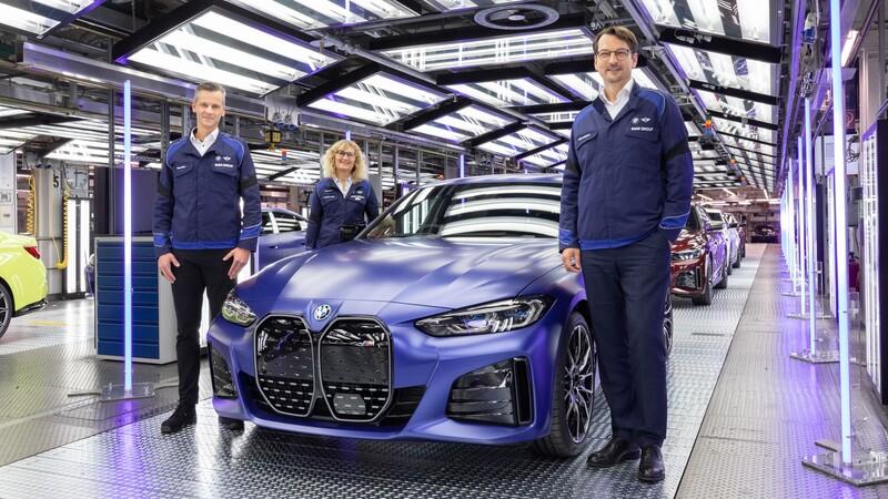 BMW i4 ya se fabrica en Alemania