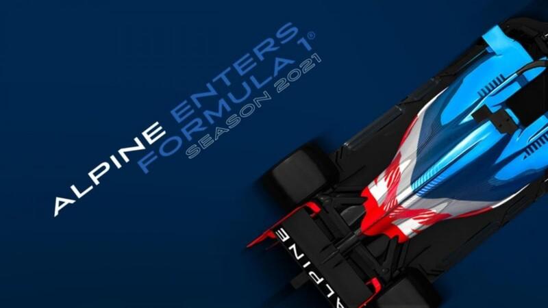 Renault cambiará de nombre e imagen en la Fórmula 1; ahora será reconocida como Alpine F1 Team