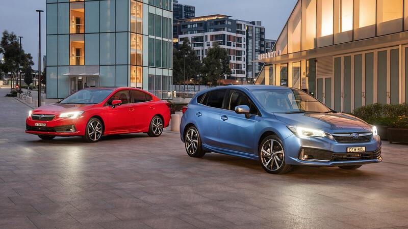 Subaru ya comercializa el facelift del Impreza en Chile