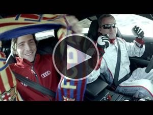 Video: jugadores del Barcelona a bordo del Audi RS 7 piloted driving concept